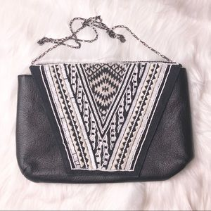 Big Buddha vegan embellished shoulder bag purse